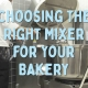 Choosing the Right Mixer Blog Post