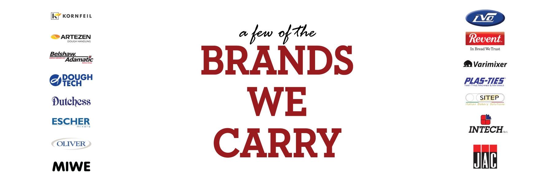 Brands We Carry Slider