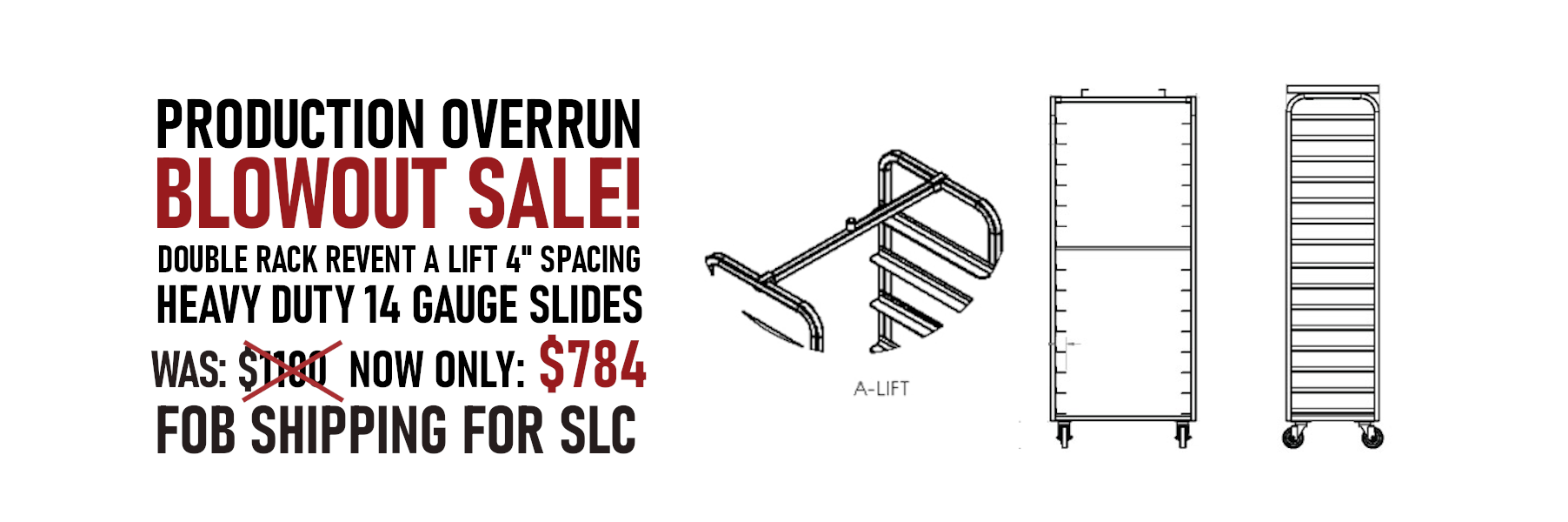 oven rack blow out sale